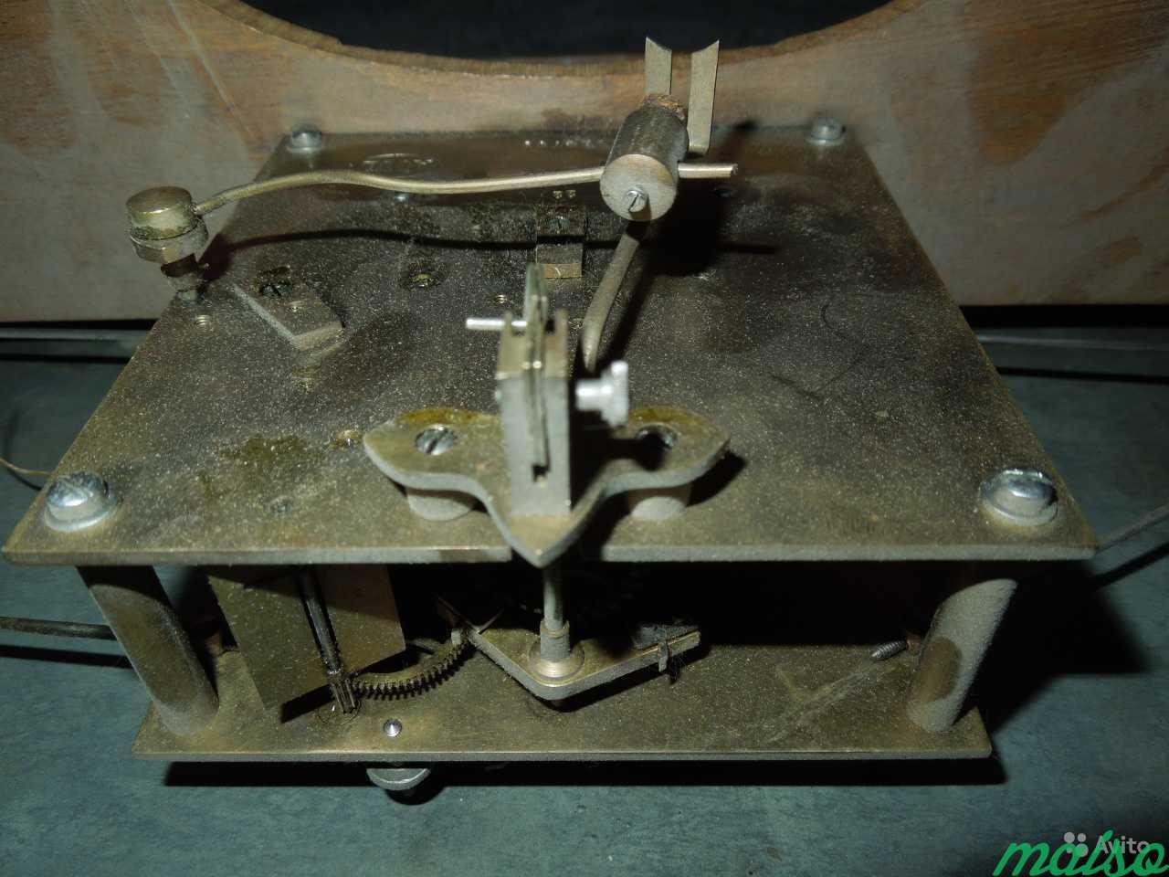 Часы П.Буре шайба зальные d 50 см 19 век в Москве. Фото 6