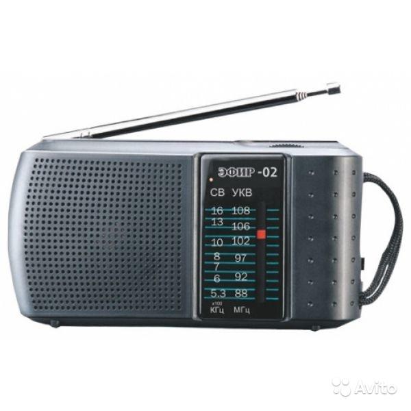 Радиоприемник эфир 02 в Москве. Фото 1