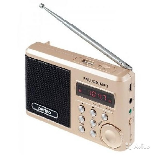 Радиоприемник perfeo sound ranger PF SV 922 gold в Москве. Фото 1