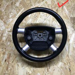 Руль кожа черный Ford Mondeo 3 бу вставки