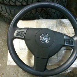 Руль с подушкой Opel Astra H, Zafira B, Vectra C