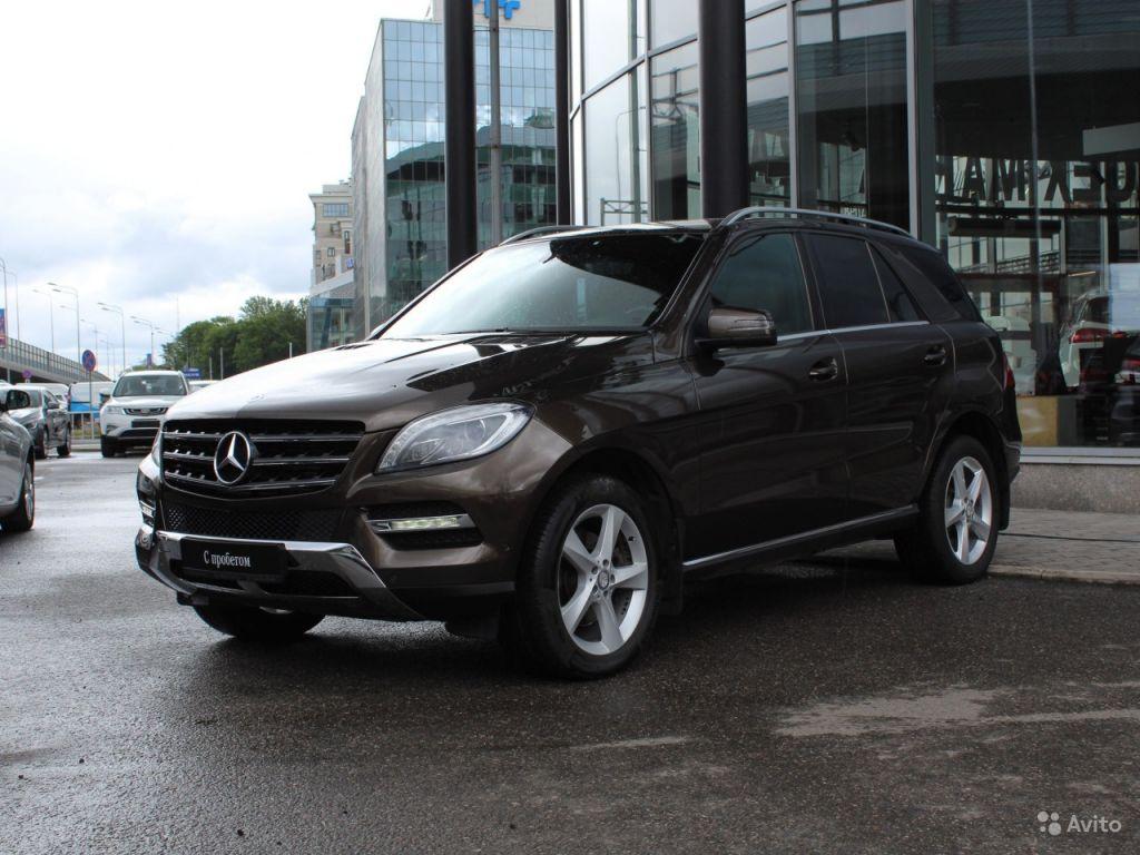 Mercedes-Benz M-класс, 2013 в Санкт-Петербурге. Фото 1