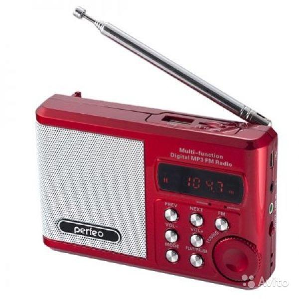 Радиоприемник perfeo Sound Ranger PF-SV922 red в Москве. Фото 1