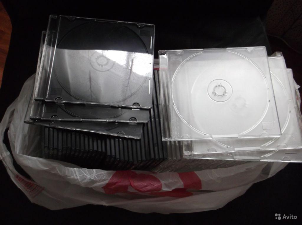 Боксы для дисков (CD, DVD) в Москве. Фото 1