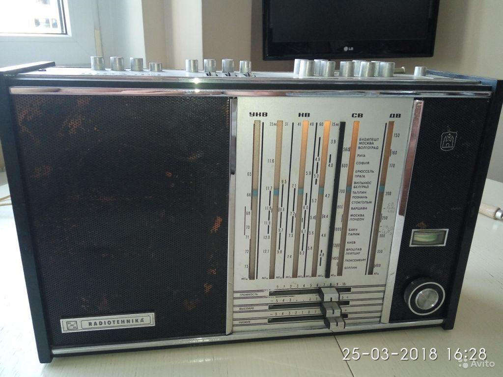 Радиоприемник Radiotehnika riga 104 в Москве. Фото 1