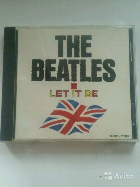 Cd disc the beatles let it be 1970 japan в Москве. Фото 1