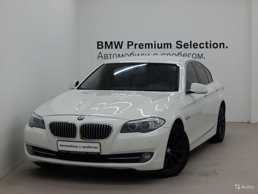 BMW 5 серия, 2012 в Санкт-Петербурге. Фото 1