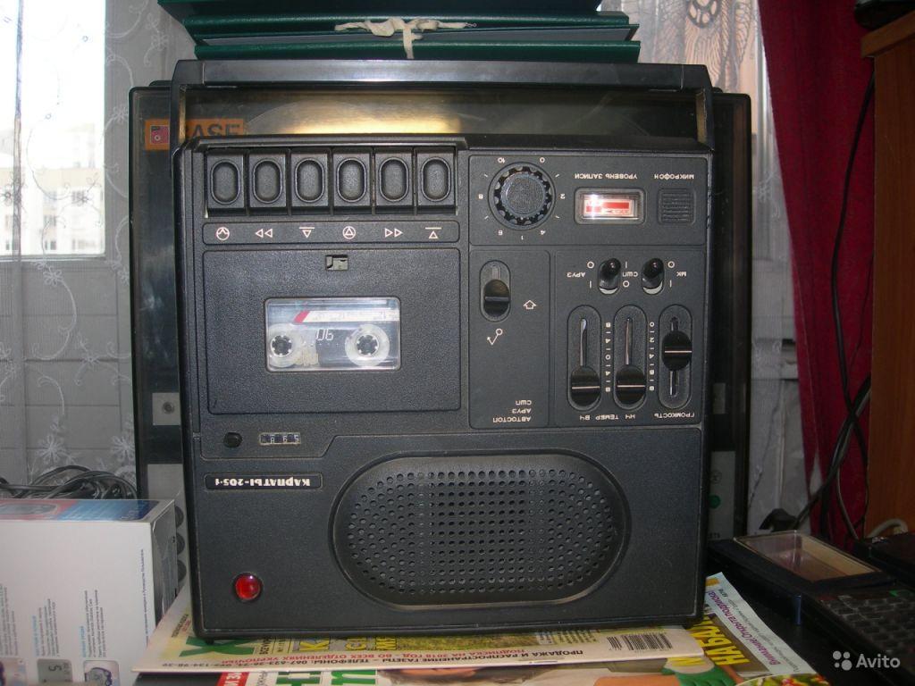 Советский кассетный магнитофон Карпаты 205-1 в Москве. Фото 1