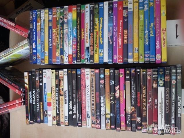 DVD диски фильмы и мультфильмы в Москве. Фото 1