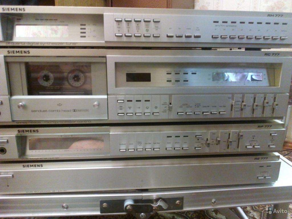Комплекс Siemens 777 музыкальный центр в Москве. Фото 1