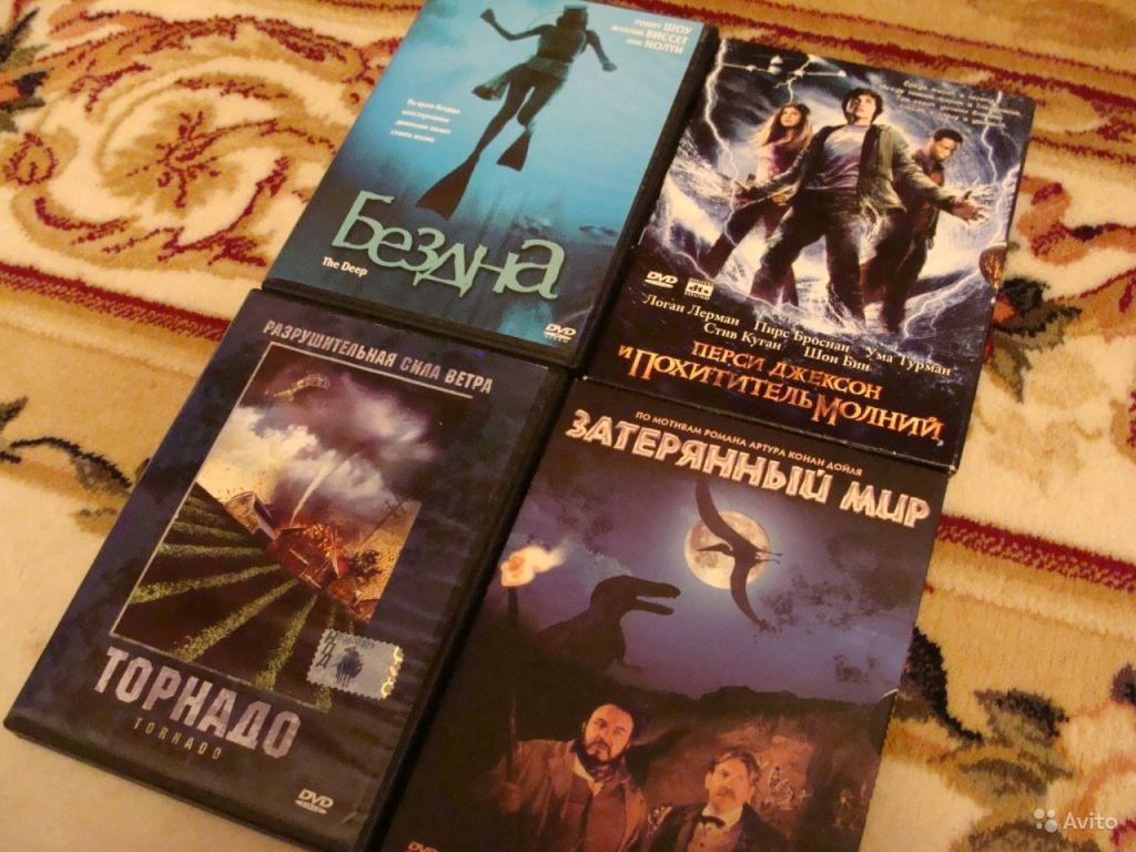 Фильмы на DVD - Торнадо, Затерянный мир в Москве. Фото 1