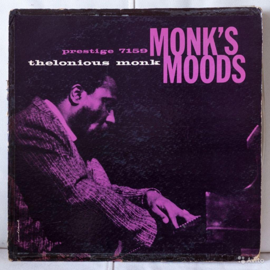 Thelonious Monk Monk's Moods (LP) в Москве. Фото 1