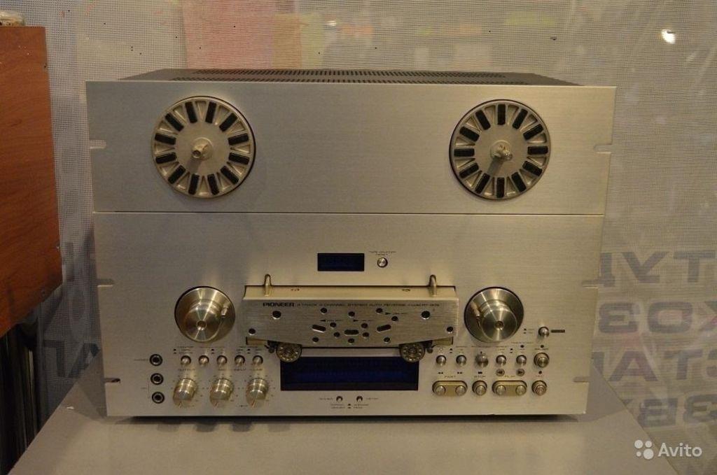 Катушечный магнитофон Pioneer RT-909 в Москве. Фото 1