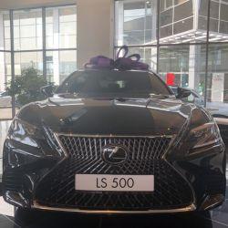 Lexus LS, 2018
