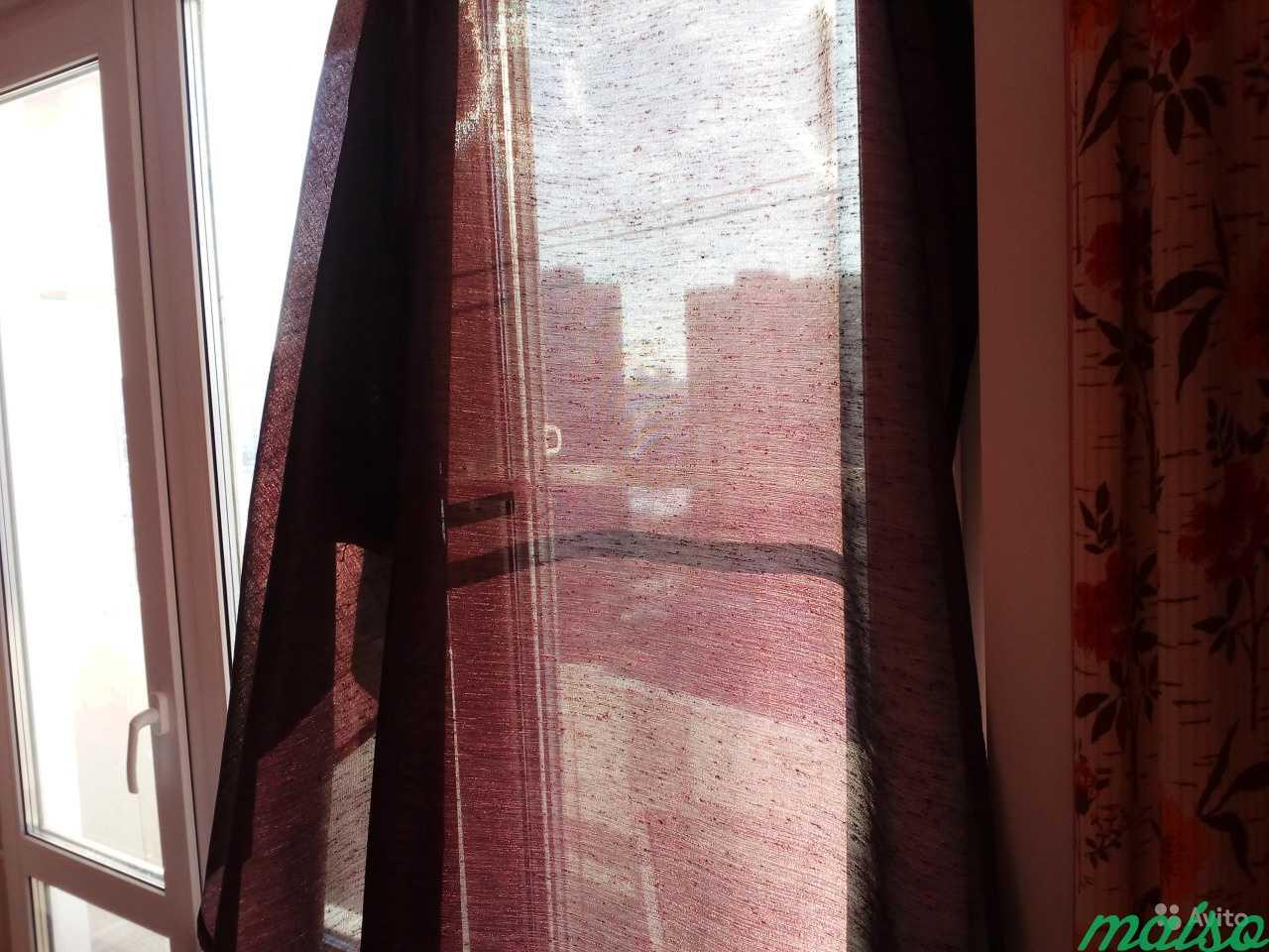 2 шторы полупрозрачные в Москве. Фото 2