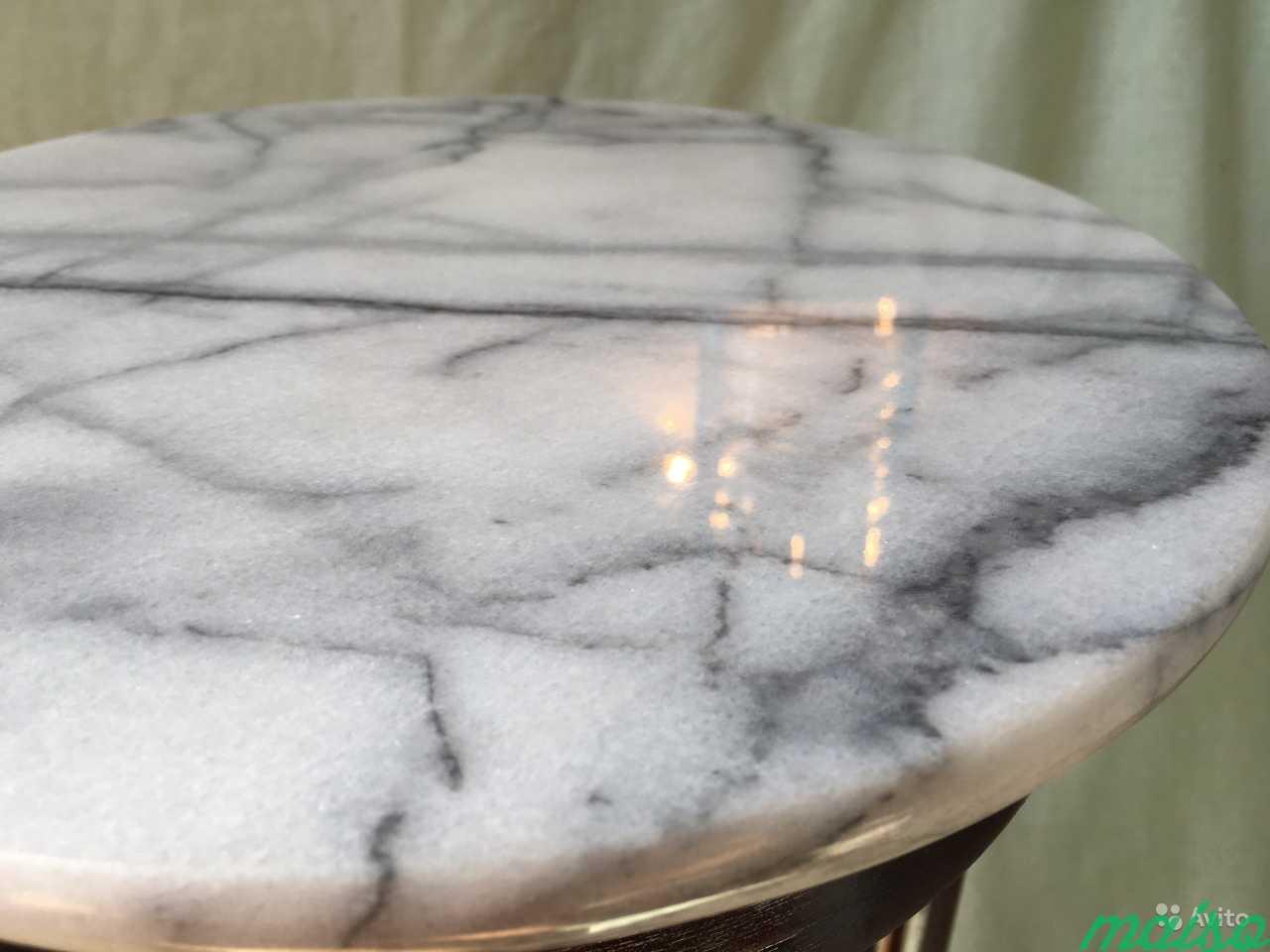 Мраморный винтажный столик в Москве. Фото 6