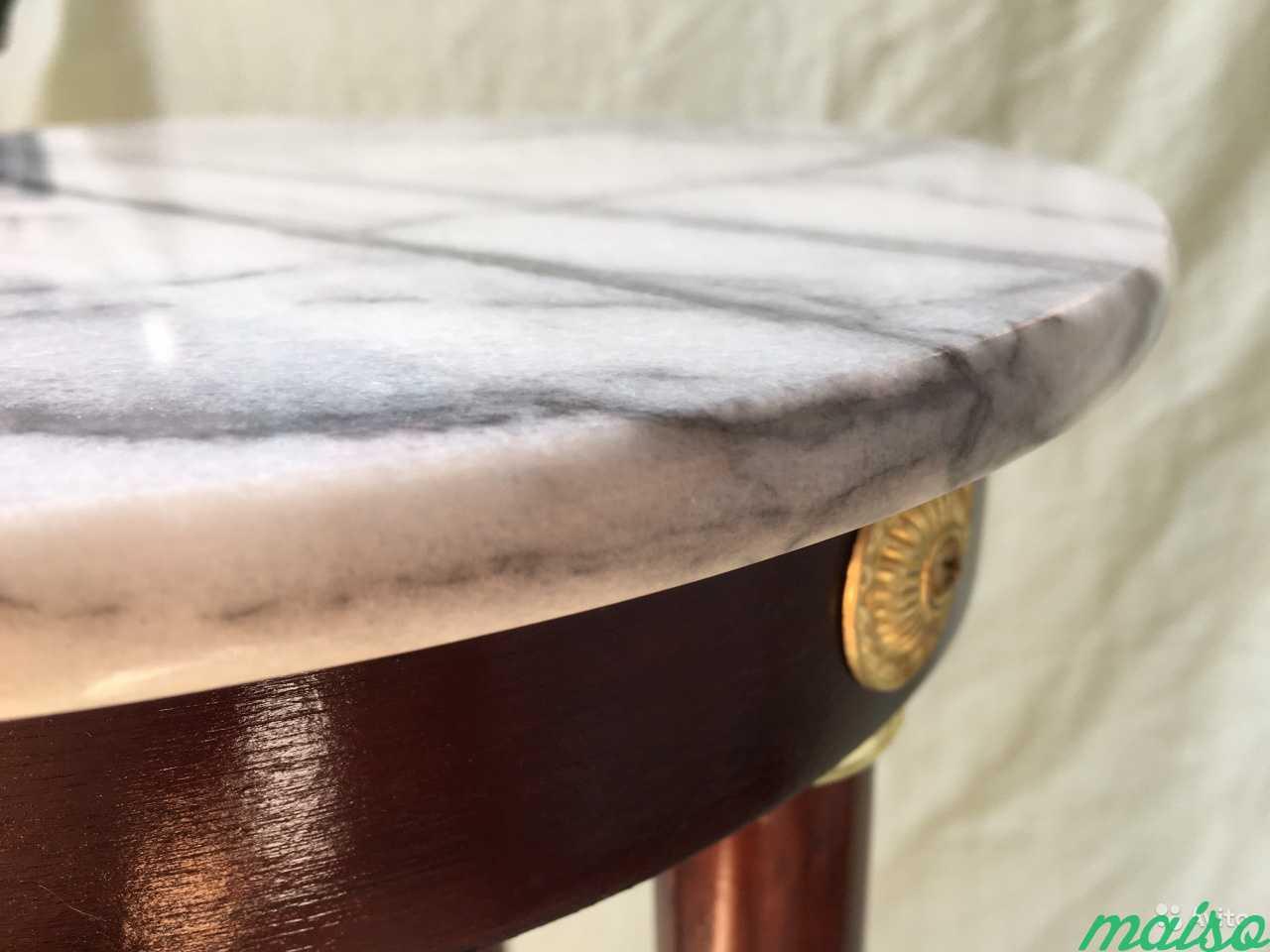 Мраморный винтажный столик в Москве. Фото 9