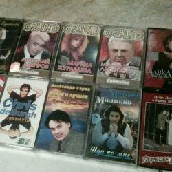 Лицензионные аудиокассеты поп музыка 10 шт разные
