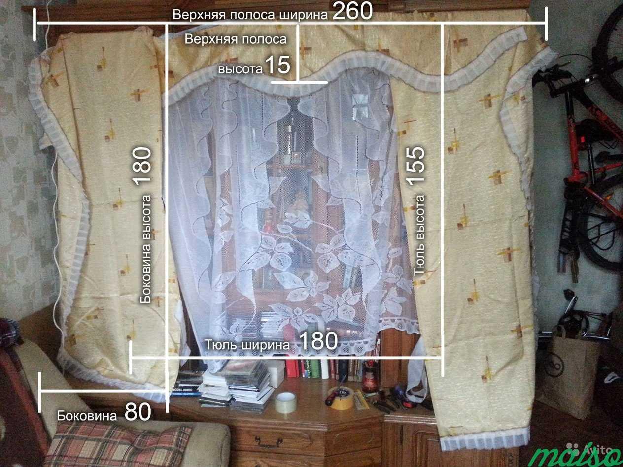 Продам комплект шторы кухонные в Москве. Фото 2