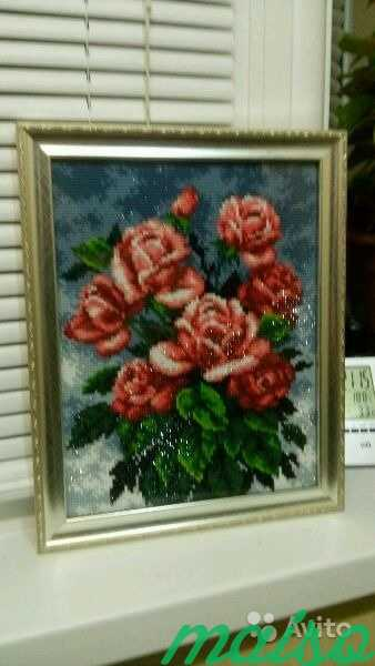 Картина Розы в Москве. Фото 4