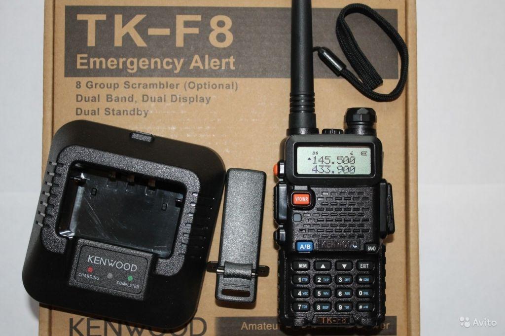 kenwood tk-f8 dual band инструкция на русском