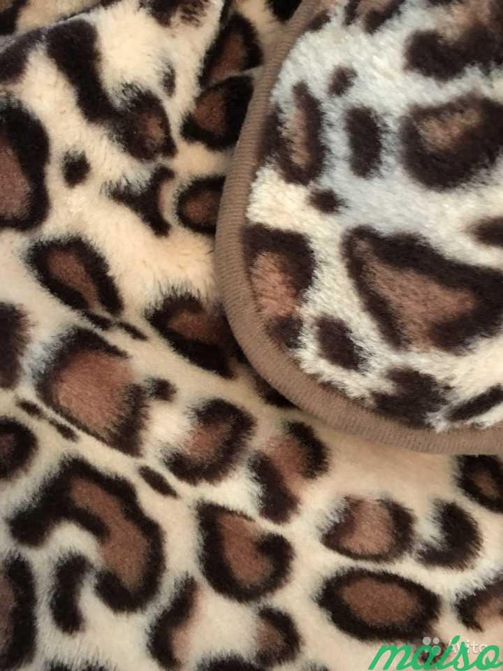 Меховой плед. Ягуар/Леопард в Москве. Фото 2