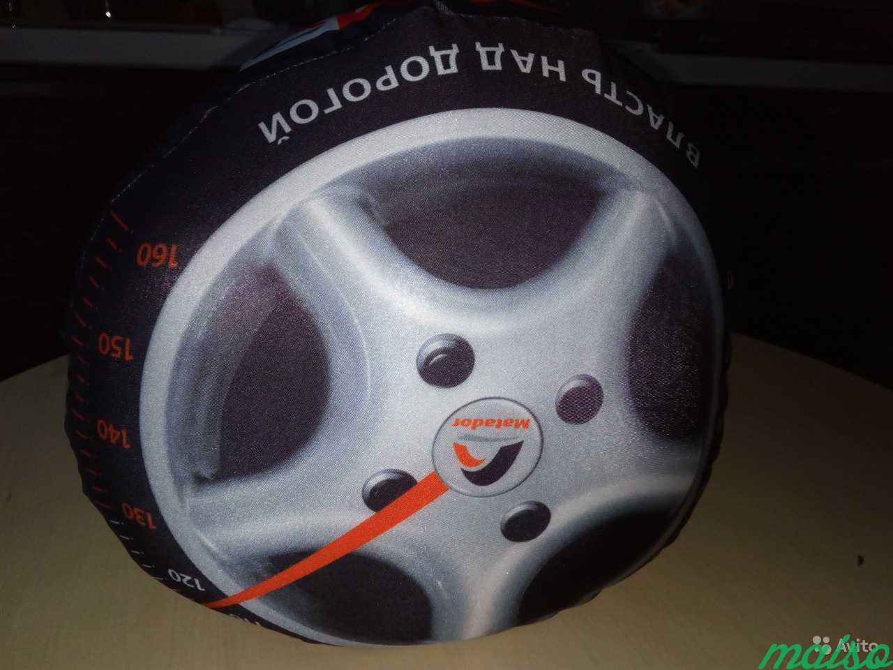 Подушка-антистресс колесо в Москве. Фото 3