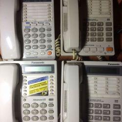Телефоны проводные Panasonic (б/у)