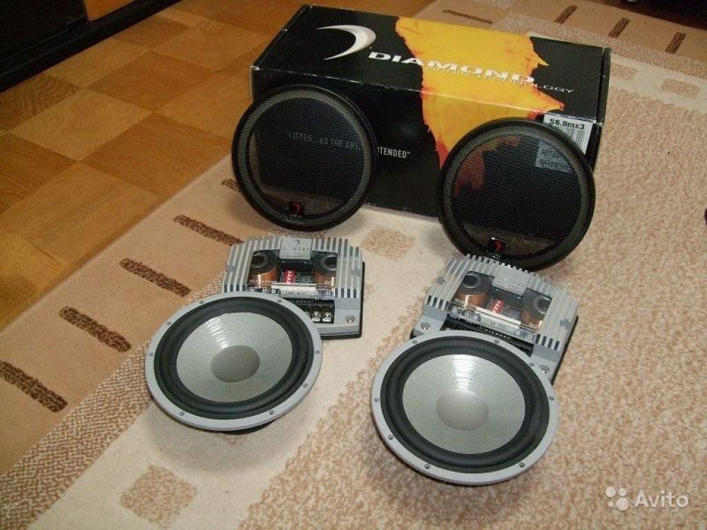 Трехпол акустика diamond HEX audio S6.0MX3 новая в Москве. Фото 1