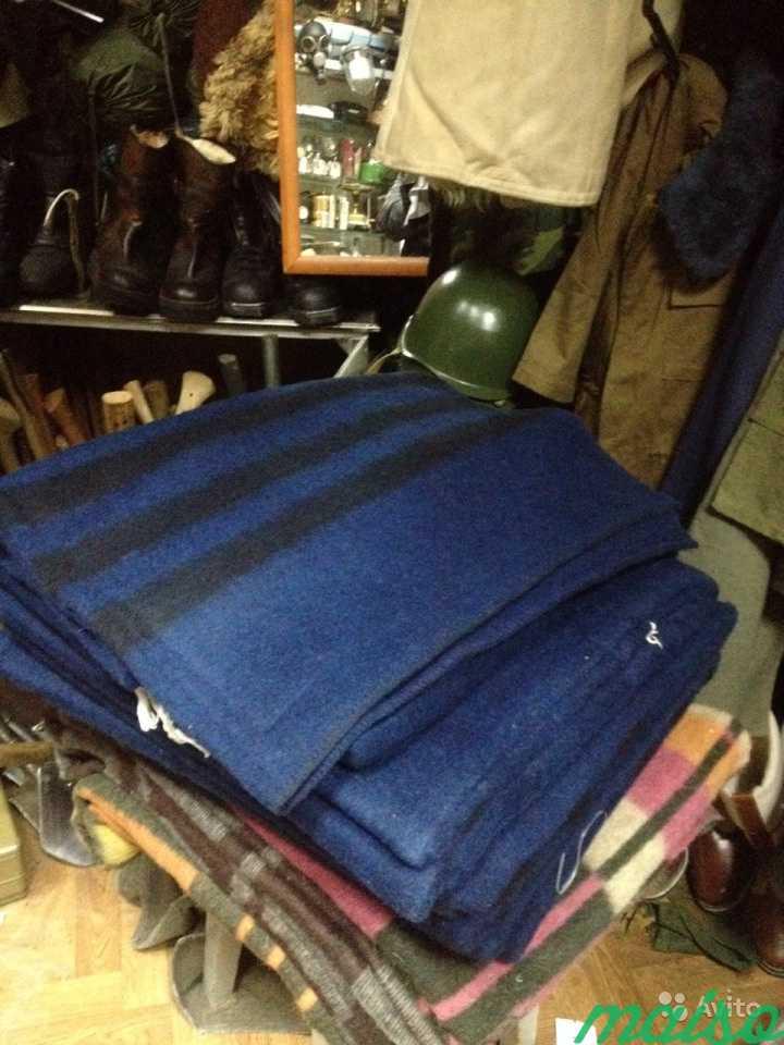 Одеяло ведомственное тёмно-синего цвета ар 2871 см в Москве. Фото 2