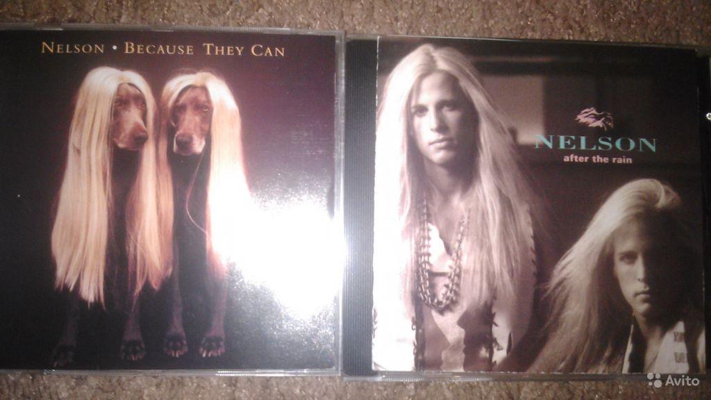 2 CD диска Nelson /Hard Rock U.S.A в Москве. Фото 1