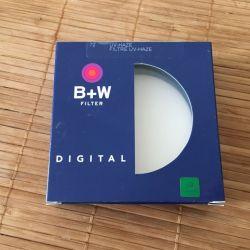 Светофильтр B+W F-Pro 72mm UV-haze