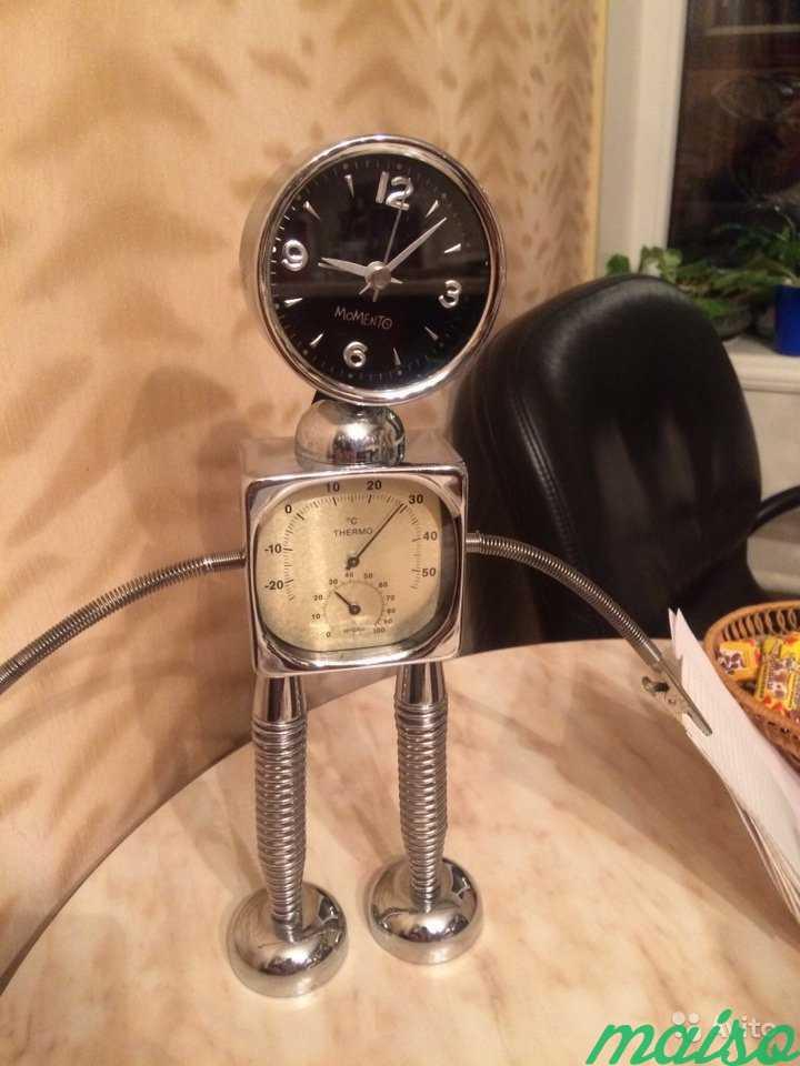 Часы, будильник, градусник.б/у в Москве. Фото 1