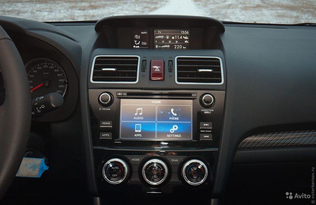 Мультимедиа для Subaru Forester 2015 в Москве. Фото 1