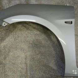 Крыло левое Хендай Солярис Silk Silver