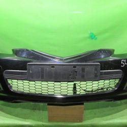 Бампер передний спорт Mazda 3 BK рест, 2006-2009 Х