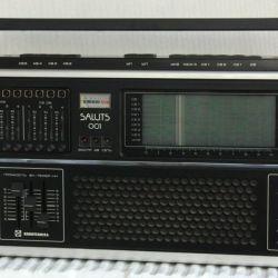 Радиоприемник Салют 001 - ранний - высший класс