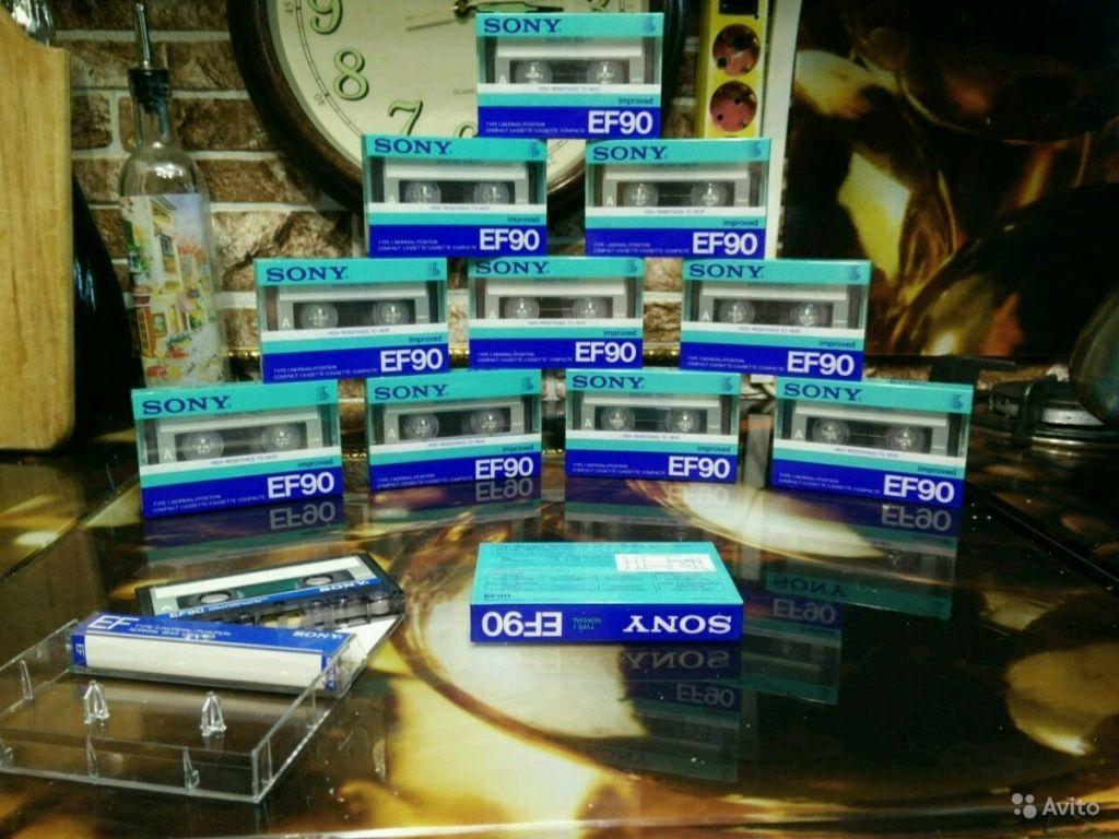 Аудиокассеты sony EF90 в Москве. Фото 1