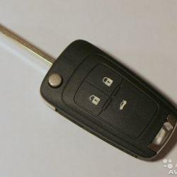 Выкидной ключ зажигания шевроле круз 3 кнопки